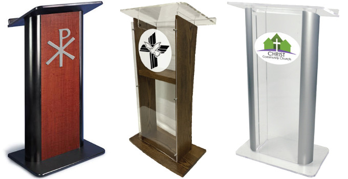 difference between pulpit lecterns