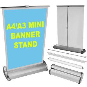tabletop roller banner