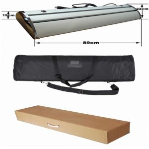 electric scrolling roll up package