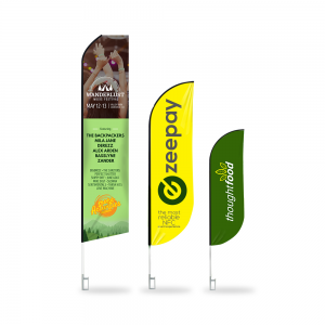 feather banners sizes lagos nigeria