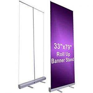 small base retractable banner