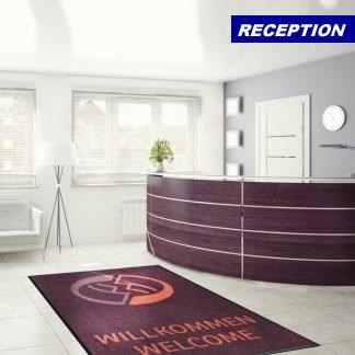 reception mats