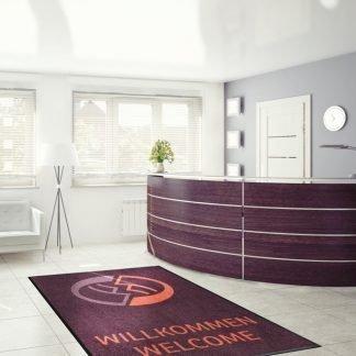 reception custom mats