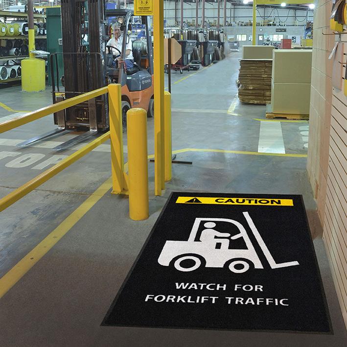 custom safety mats