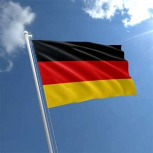 flying germany-flags